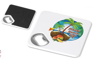 Personalised 2 in 1 coaster and opener