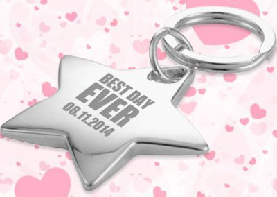 Star Keyrings