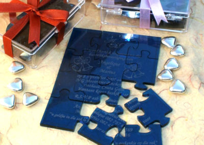 Personalised Puzzle Guest invitations or Thank-you